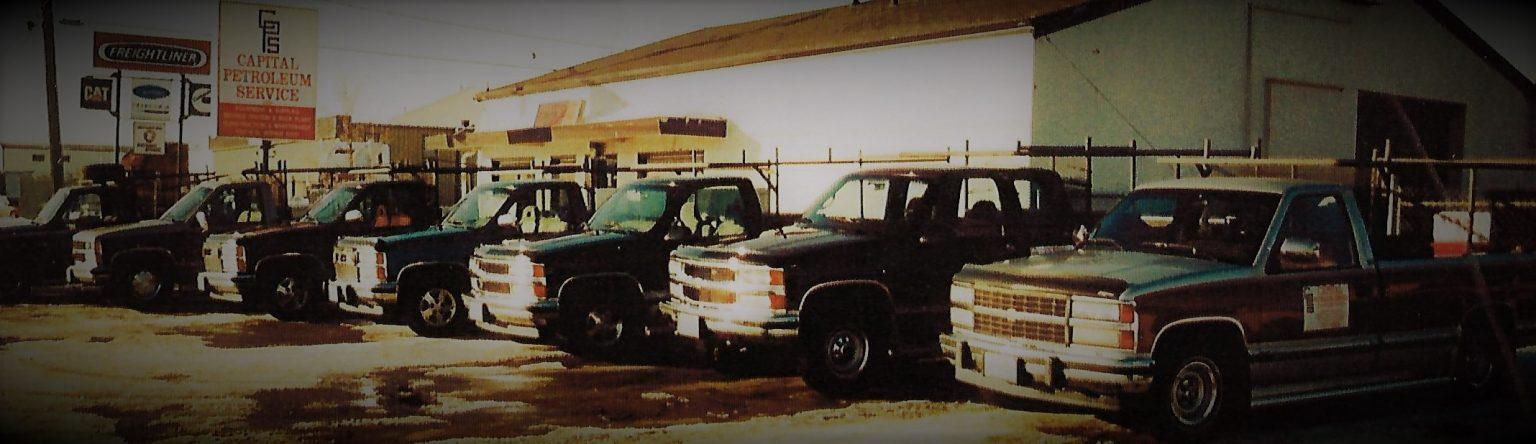 CPS Trucks circa 1982
